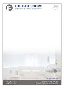 CTS Bathrooms - Branding