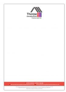 Thorpe Developments - Branding