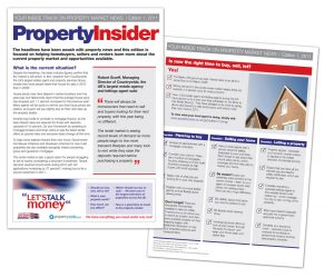Property Newsletters - Graphic Design