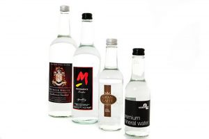 Glass Bottled Water - Branded Personalised
