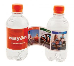 Water with peel labels - Branded Personalised